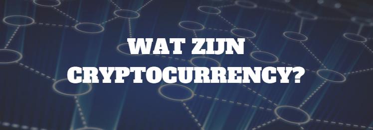 cryptocurrency-wat-zijn-het